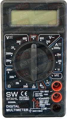 SW-stahl digitalny multimeter