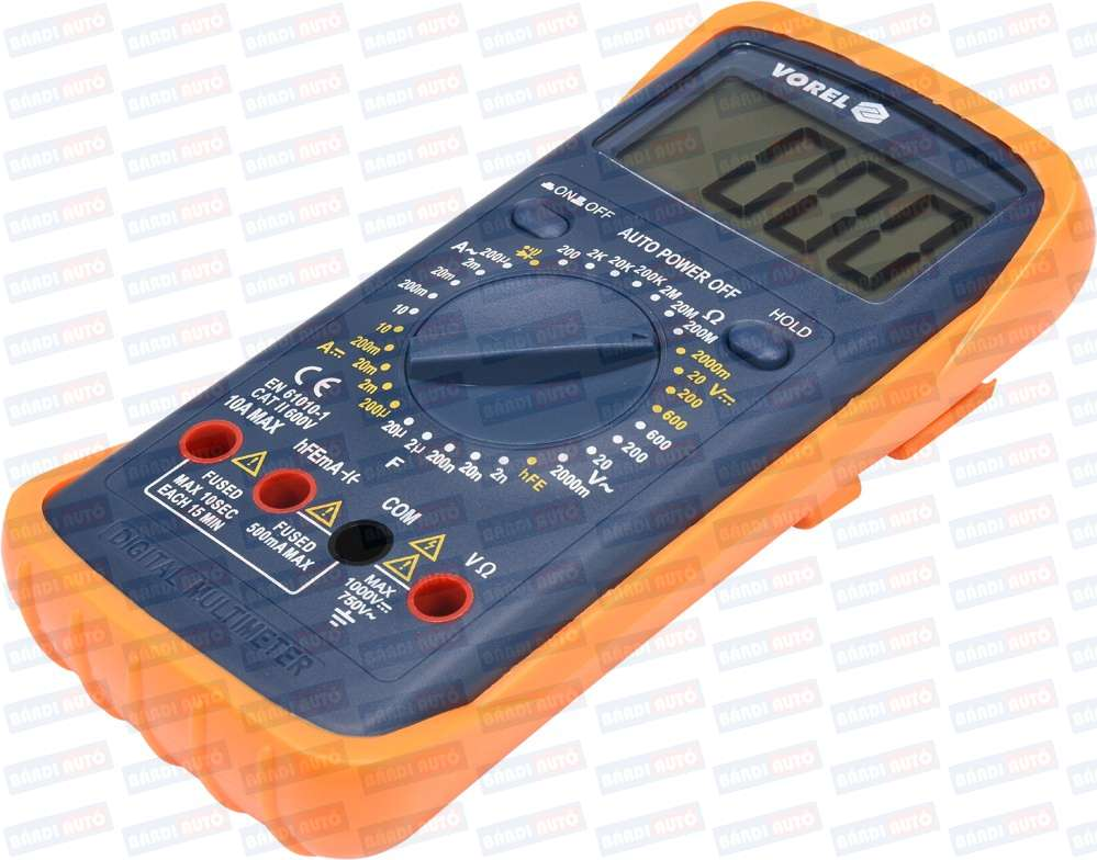 Vorel digitalny multimeter