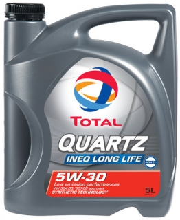 Total QUARTZ INEO LL 5W30 5L