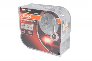 OSRAM H1 NIGHT BREAKER SILVER 12V/55W+100%