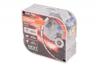 OSRAM H3 NIGHT BREAKER LASER 12V/55W+150%