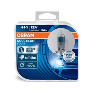 OSRAM H4 COOL BLUE BOOST 12V 100/90W +50%
